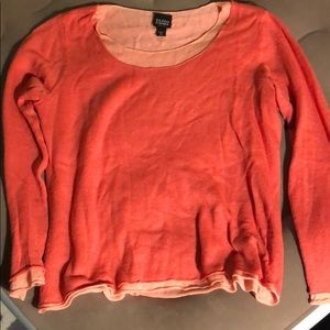 Eileen Fisher Layered Pink Sweater